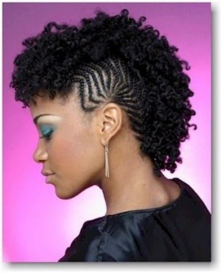 Twisted fauxhawks twist braid styles to try this seaon