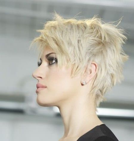 bombshell choppy pixie cuts