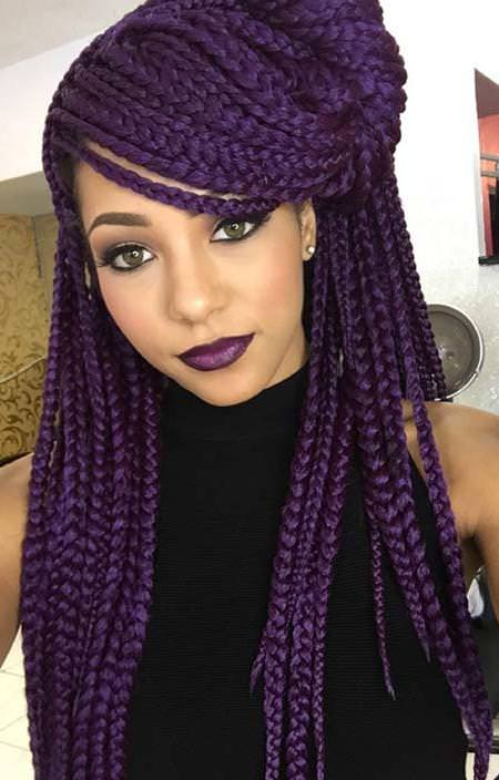 box braids with twisted sections box braids updos hairstyles
