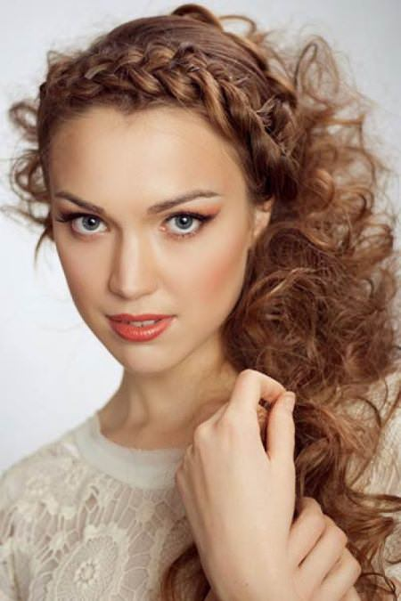 braided headband for curly hair natural curly hairstyles