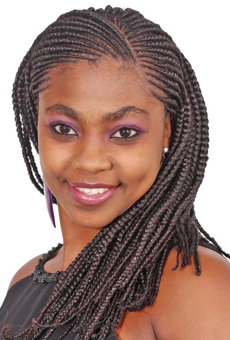 braids with curves french braids for black women