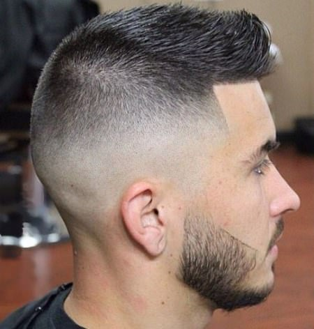 buzz haircut with fohawk fade haircuts for men