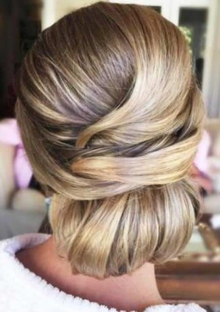 criss cross chignon hairstyles for straight hair