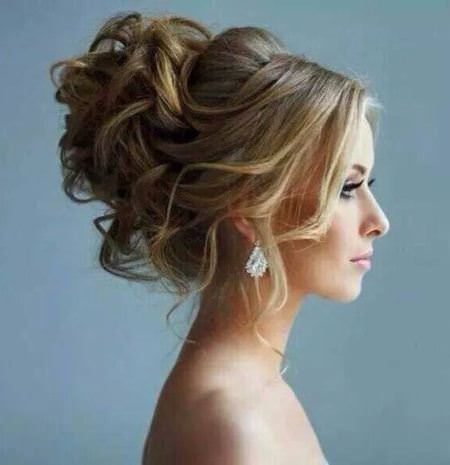 curly Updo medium curly hairstyles for every occasion