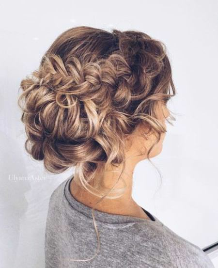 curly braided updo natural curly hairstyles