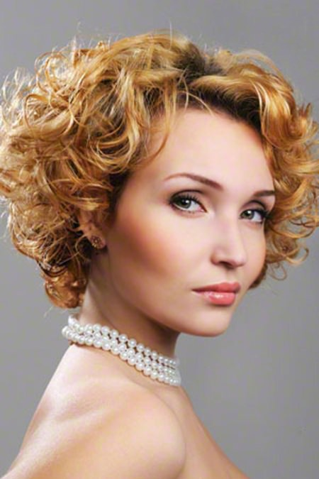 curly hairstyle short haircuts for women