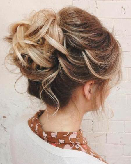 curly updo hairstyles for thin hair