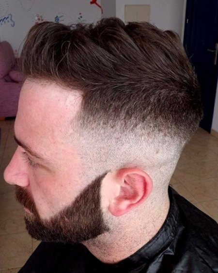diconnected and daper skin fade haircuts