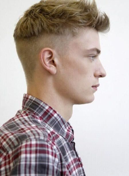 disconnected taper fade cuts for men