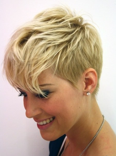 edgy short haircuts for women