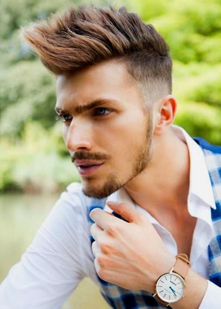 extreme faux hawk haircuts for men