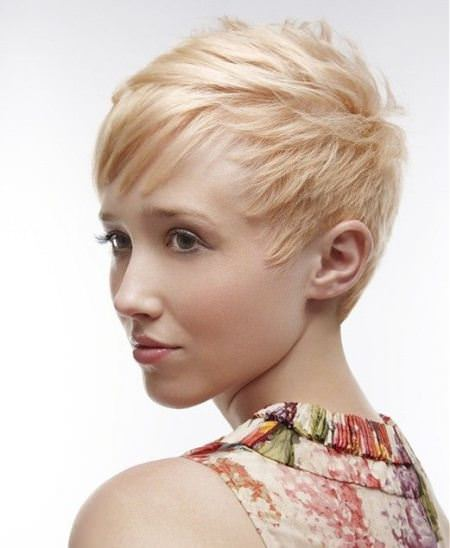 finely choppy pixie cuts for fine hair
