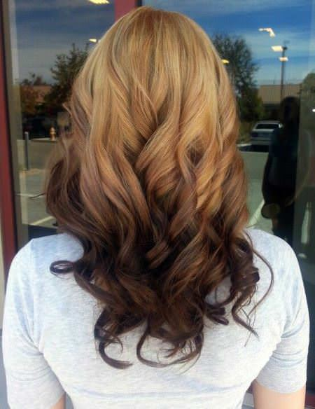 going dark with light brown to dark brown ombre stylish ombre straight hair