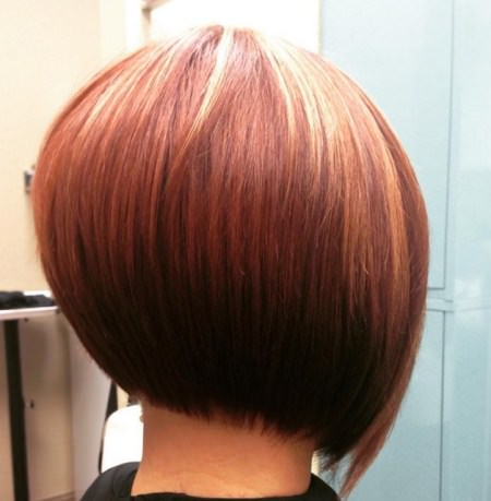 graduated bob haircuts with height