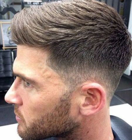 highlighted taper fade cuts for men