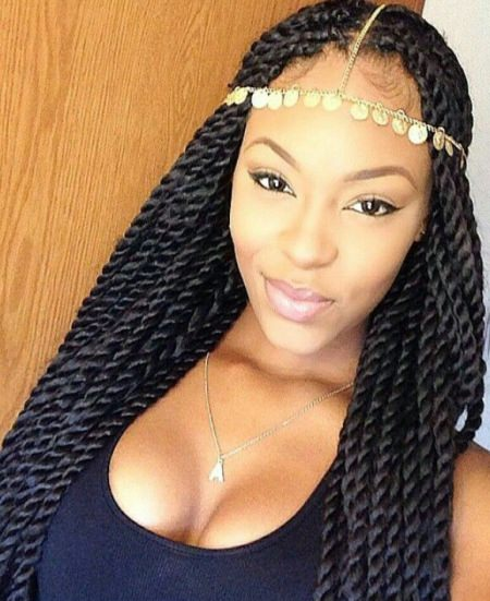 long and loose braid twist braid styles to try this seaon