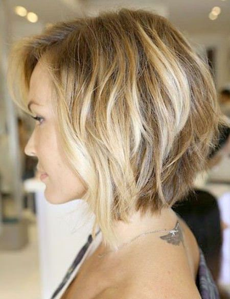 loose and lovely inverted bob haircut