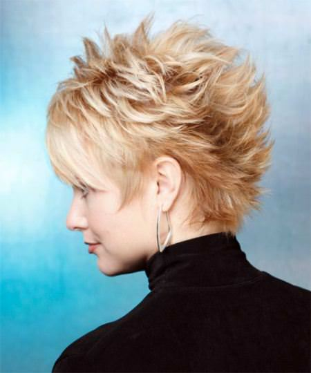 multiple messy hair haircuts for short spiky haircuts for women
