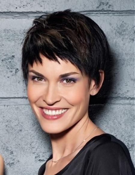 pixie with short bangs short hairstyles for thick hair