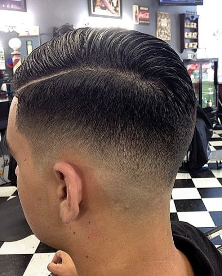 professional bald faded side part skin fade haircuts