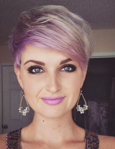 shades of purple pixie colorful pixie cuts