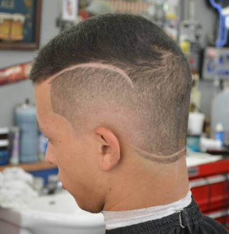 shaved designs buzz cuts different lengths