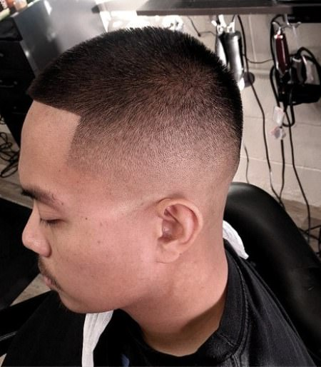 short and simple skin fade haircuts