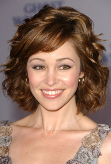 short and soft curls hairstyles for thick hair