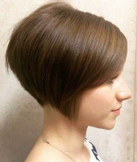 short inverted bob short straight hairstyles