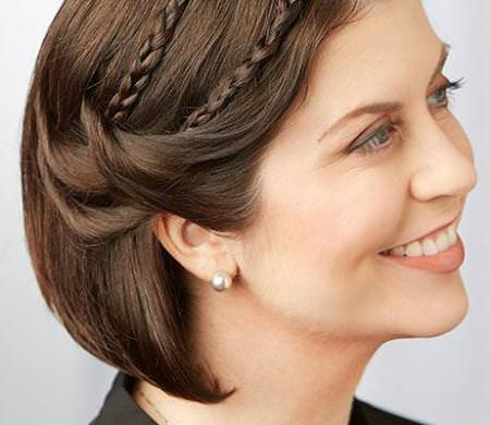 short party hairstyles for short hair