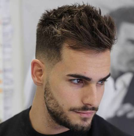 short sides textured top short hairstyles for men