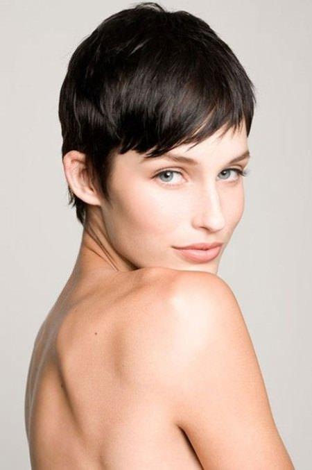 short straight pixie short straight hairstyles