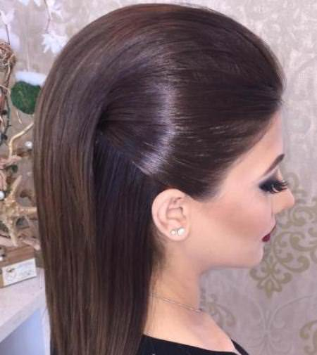 sleek straight hairstyles for straight hair