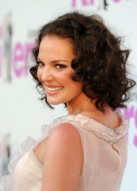 soft curly hairstyles for short hair