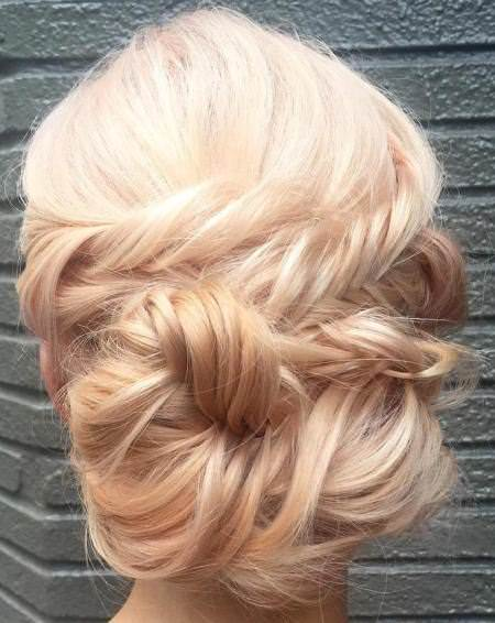 straight hair updo with boho vibes hairstyles for straight hair