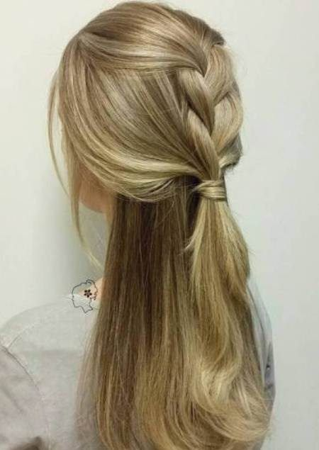 straight with one side everything hairstyles for straight hair