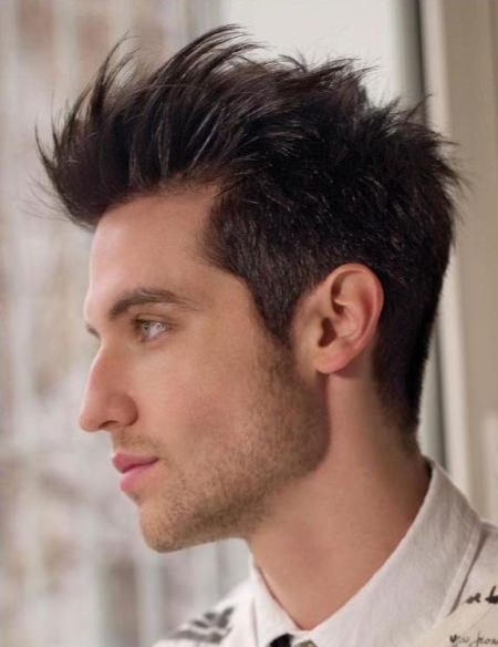 tapered faux hawk haircuts for men