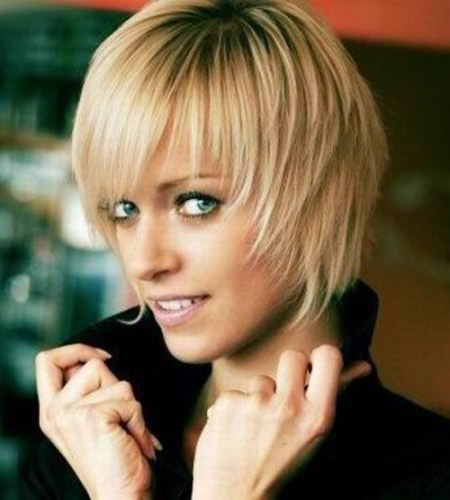 torn hairstyles with soft fringes short hairstyles for fine hair