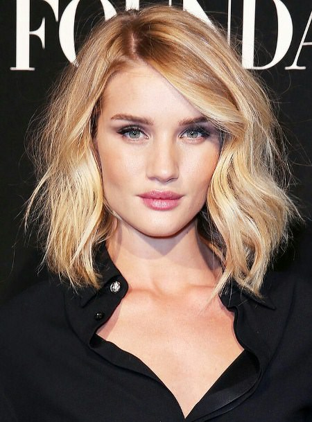 tousled wavy short haircuts for women