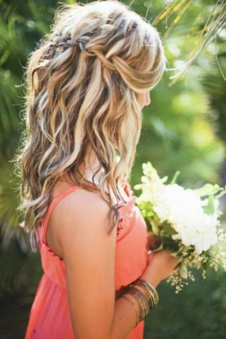 waterfall twists with loose curls medium curly hairstyles for every ocassion