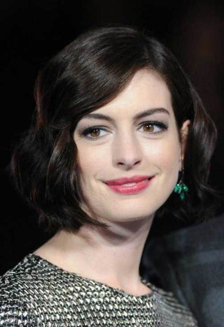 wavy bob short hairstyles for thick hair