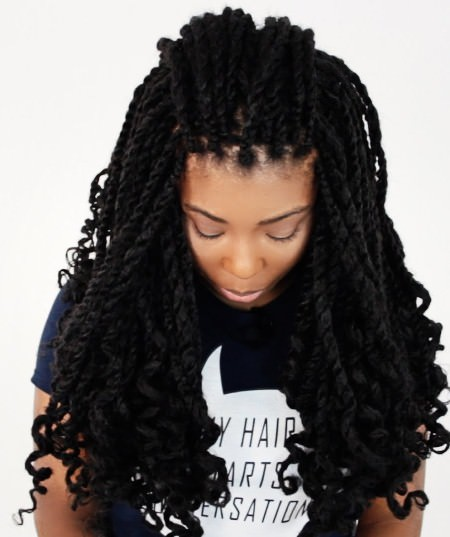 wavy to style twsit twist braid styles to try this seaon