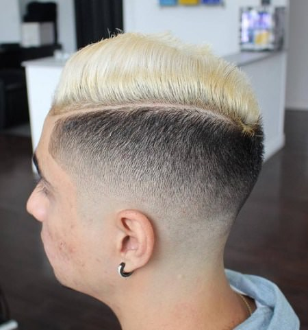 90's shaved high and tight Shaved Sides Hairstyles and Haircuts for Men