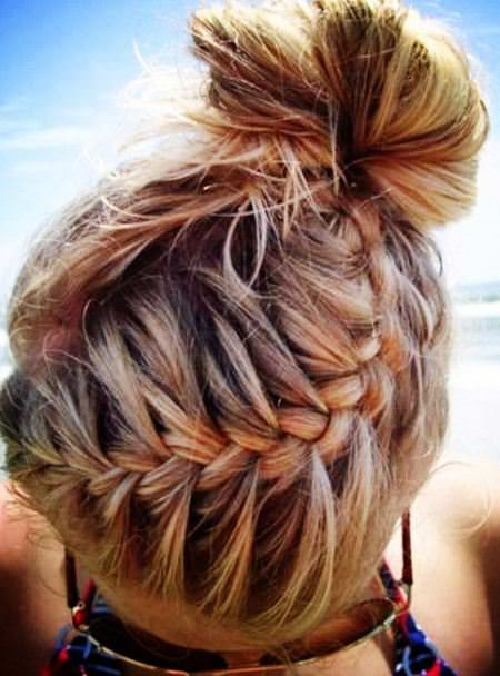 A braid with everything french braid hairstyles