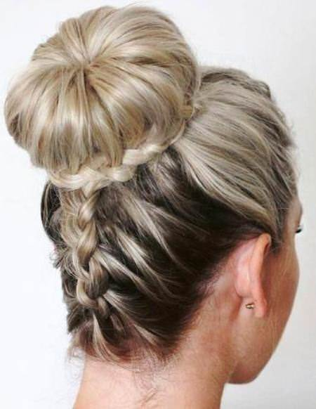 All around and upside down french braid hairstyles