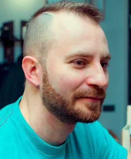 Balding fade haircut hairstyles for balding men