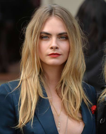 Bed hair long haircuts for women