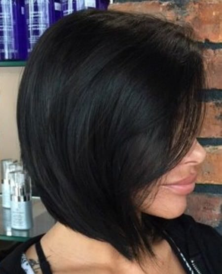 Chic black bob choppy bob hairstyles