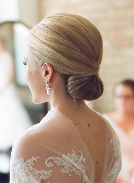 Classic updo Formal and classy bun hairstyles
