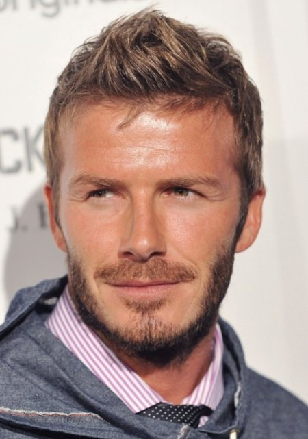 David Beckham Haircut That Suits Most Men man with the millon faces